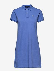 Cotton Polo Dress - short dresses - harbor island blu