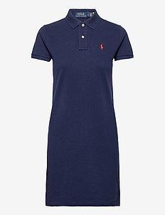 Cotton Polo Dress - hverdagskjoler - newport navy/c387