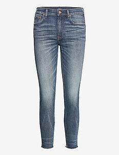Tompkins Skinny Crop Jean - slim jeans - dark indigo