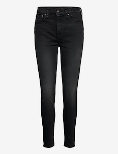 Tompkins High-Rise Skinny Jean - skinny jeans - washed black