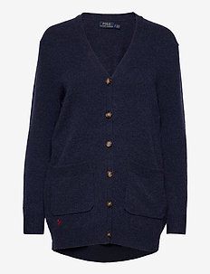 Wool-Blend Cardigan - cardigans - boathouse navy he