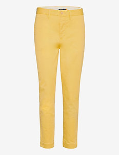 Stretch Chino Skinny Pant - chinos - oasis yellow