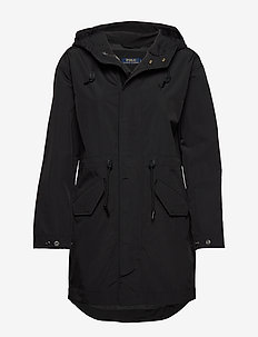 RECYCLED RIPSTOP-NIN-JKT - parka coats - polo black