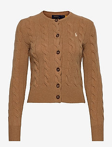 Buttoned Wool-Blend Cardigan - neuletakit - collection camel