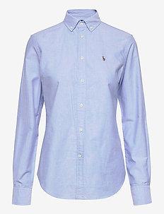 LT WT OXFORD-LSL-SHT - långärmade skjortor - blue hyacinth
