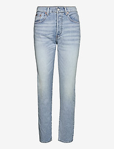 Callen High-Rise Slim Jean - slim jeans - light indigo