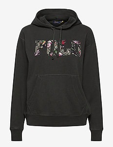 Polo Patch Terry Hoodie - hoodies - black mask