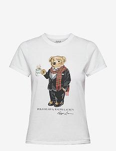 Cocoa Polo Bear T-shirt - t-shirts - white