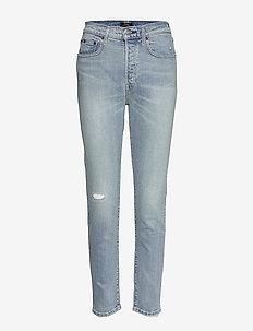 Callen High-Rise Slim Jean - jeans slim - light indigo
