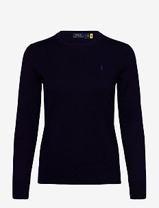 PIMA JSY STRETCH-LSL-SWT - jumpers - bright navy