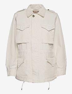 Surplus Cotton Twill Jacket - light jackets - clubhouse cream