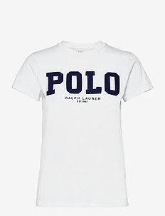 Polo Logo Cotton Jersey Tee - t-shirts - white