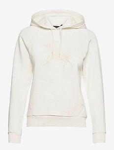 Beaded Graphic Hoodie - hoodies - nevis