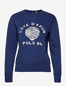 Côte d'Azur Fleece Sweatshirt - sweatshirts - vineyard royal