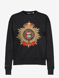 FEATHERWEIGHT FLC-LSL-KNT - sweatshirts - polo black