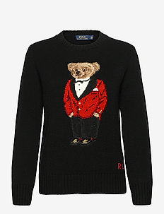 Lunar New Year Polo Bear Sweater - jumpers - polo black