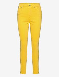 Tompkins High-Rise Skinny Jean - skinny jeans - yellow