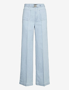 Margery Wide-Leg Jean - brede jeans - light indigo