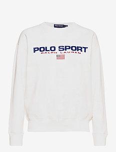 Polo Sport Fleece Sweatshirt - sweatshirts - white