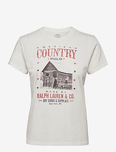 Country Polo Logo Jersey Tee - t-shirts - nevis