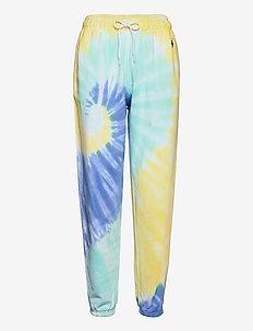 Spiral Tie-Dye Terry Sweatpant - joggings - tie dye