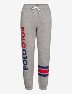 Logo Fleece Sweatpant - joggings - dark vintage heat
