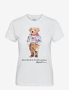Bandanna Polo Bear Tee - t-shirts - white