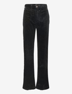Jenn Flare Corduroy Pant - straight jeans - polo black
