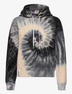 Spiral Tie-Dye Terry Sweatshirt - pulls à capuche - grey spiral tie d