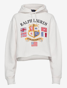 Logo Graphic Cropped Hoodie - pulls à capuche - nevis
