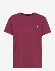 Cotton Crewneck Tee - t-shirts - monarch red