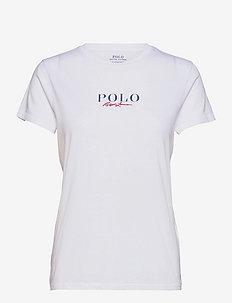 Logo Cotton Tee - t-shirts - white