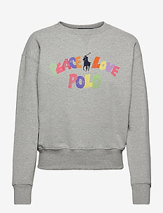 LW SEASONAL FLEECE-LSL-SWS - sweaters - andover heather