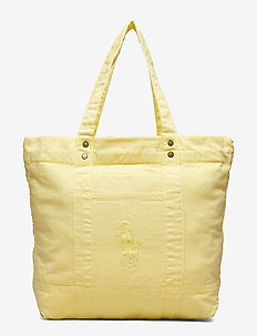 SUNFADED CHINO-LG PP TOTE-TTE-LRG - OASIS YELLOW