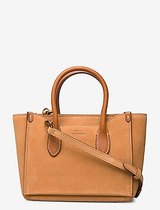 Suede Mini Sloane Satchel - handbags - camel