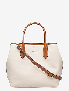 POLO CANVAS-MD OPEN TOTE-TTE-MED - top handle tasker - natural