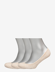 Ultralow Liner Sock 3-Pack - ankle socks - nude
