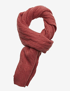 WOOL/CASH-WOOL CSH CL CABLE SC - RED SLATE HTHR