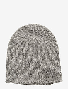 CASHMERE-CASHMERE DONEGAL HAT - LIGHT VINTAGE HEA