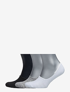 Sneaker Liner Sock 3-Pack - BLACK 001