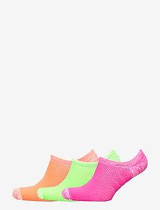 Microfiber Sock 3-Pack - CORAL