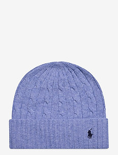 WOOL BLEND-WOOL CASHMER-HAT - beanies - french blue