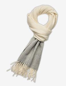 WOOL-WOOL COLORBL-OBS - scarves - cream/lt vintage