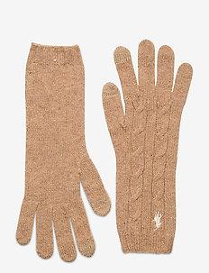 WOOL BLEND-WOOL CASHMR-GLV - gants - camel