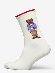 Polo Bear Crew Socks - skarpetki - ivory nrf 112