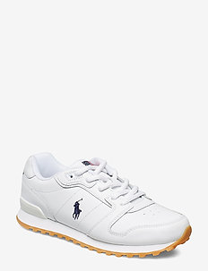 Classic Runner Leather Sneaker - WHITE