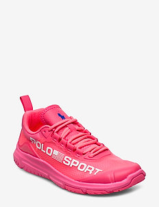 Polo Sport Tech Sneaker - low top sneakers - neon fuschia