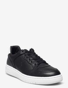 Court Leather Sneaker - sneakersy niskie - black