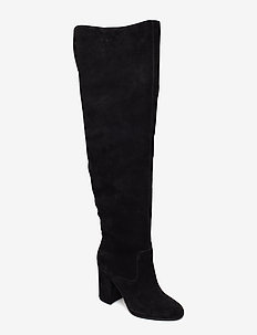 Emmalyn Thigh-High Boot - BLACK