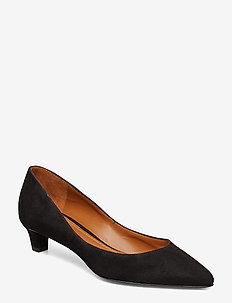 LUXE SUEDE-SABRYNA-PM-DRS - BLACK